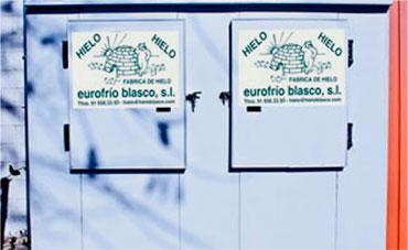 Congeladores de hielo Hielo Blasco, venta y distribución de hielo
