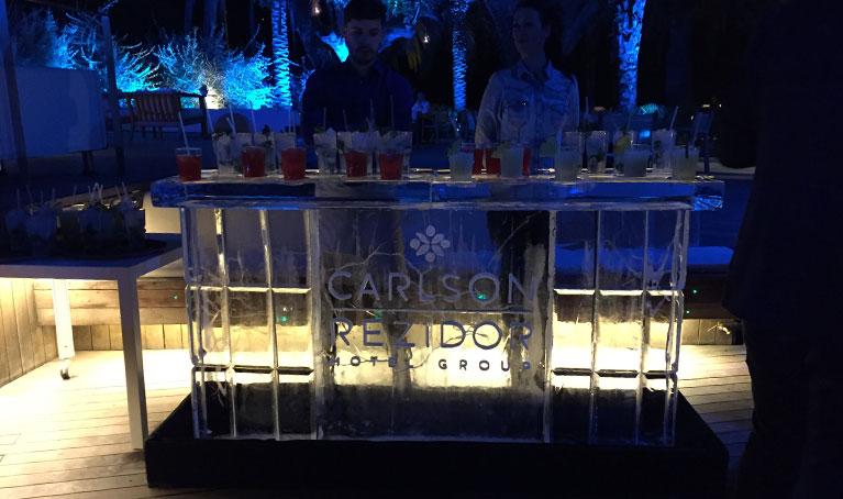 Fábrica de hielo para eventos y fiestas en Madrid. Hielo Blasco.