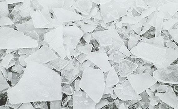 Venta y distribución de hielo en escamas en Madrid