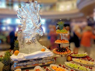 escultura de hielo barata en Madrid